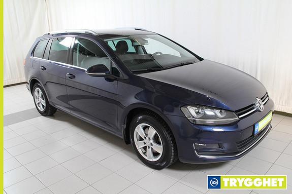 Volkswagen Golf 1,6 TDI 105hk Highline 4Motion parkvarmer m/fjernkontroll,DAB+,ryggekamera,krok