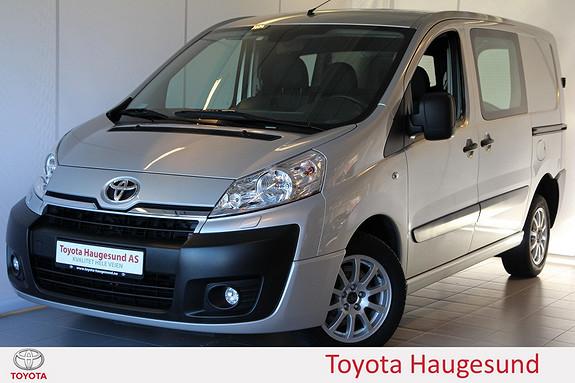 Toyota Proace 2,0 128hk L1H1 Bluetooth, aircondition, setevarme, tectylert m.m.  2013, 33740 km, kr 179000,-
