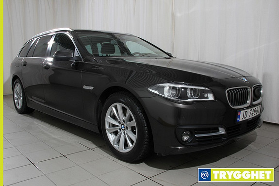 BMW 5-serie 520d xDrive Touring 190hk aut adaptive led lys, hengerfeste,navigasjon,ny i Norge