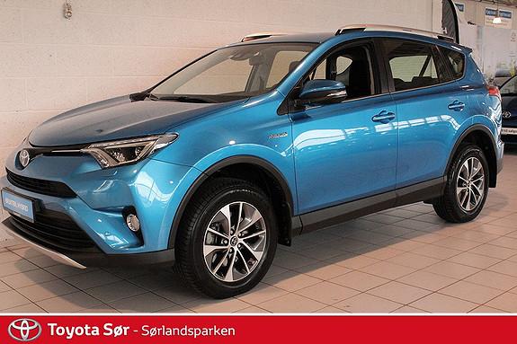 Toyota RAV4 Hybrid 2WD Active S GRATIS FRAKT OG LEVERING!  2016, 6000 km, kr 399000,-