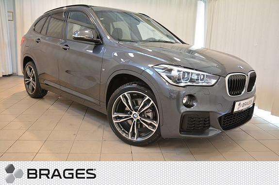 BMW X1 xDrive18d 150hk aut, NORSK MSPORT NAVI KROK HEAD-UP HIFI ADAPTIV CRUISE PANORAMA LED +++  2017, 1600 km, kr 578000,-