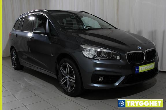BMW 2-serie 218i Gran Tourer aut Navi,ryggekamera,headup,hengerf,sportstoler,Dab+