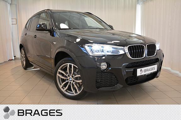 BMW X3 xDrive20d 190hk 100 Edition aut  2017, 1650 km, kr 748000,-