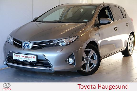 Toyota Auris 1,8 Hybrid E-CVT Active+ Navigasjon, ryggekamera, Bluetooth, DAB+ - norsksolgt -  2015, 47586 km, kr 235000,-