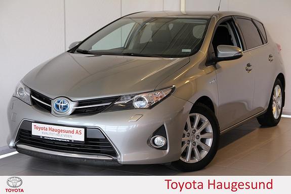 Toyota Auris 1,8 Hybrid E-CVT Active+ Navigasjon, ryggekamera, Bluetooth, DAB+ - norsksolgt -  2015, 53903 km, kr 235000,-