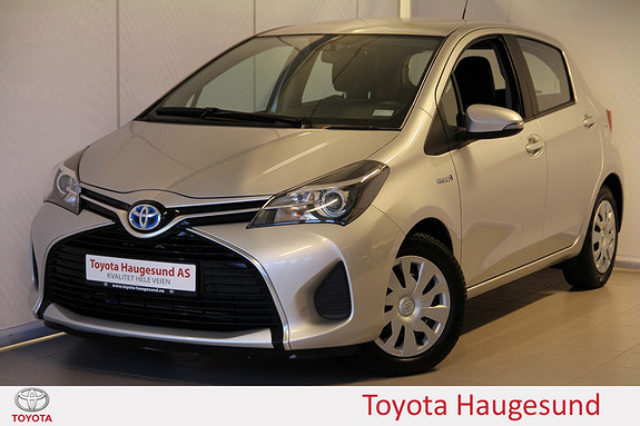 Toyota Yaris 1,5 Hybrid Active e-CVT Navigasjon, ryggekamera, Bluetooth, DAB+ - norsksolgt -  2015, 49289 km, kr 195000,-