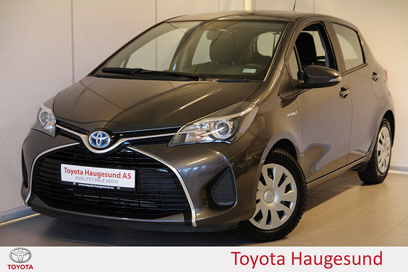 Toyota Yaris 1,5 Hybrid Active Navigasjon, ryggekamera, Bluetooth, DAB+ - norsksolgt -  2015, 51873 km, kr 195000,-