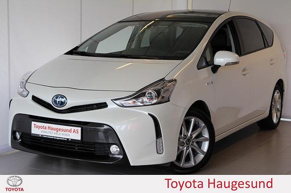 Toyota Prius+ Seven 1,8 VVT-i Hybrid Executive Skyview Skinn, glasstak, kamera, adaptiv cruise  2015, 18985 km, kr 359000,-