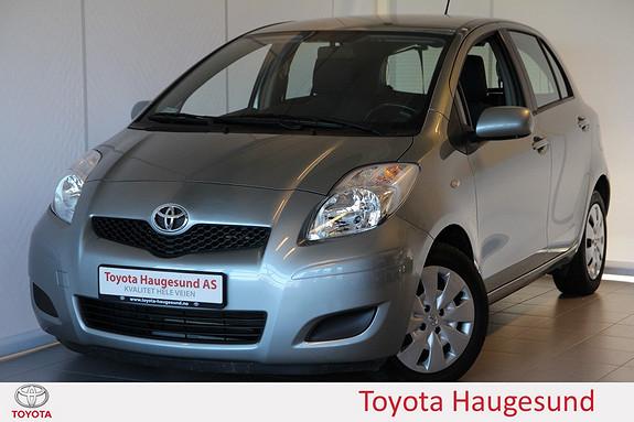 Toyota Yaris 1,33 Sol S&S 100 HK, aircondition, AUX, H-feste, tectyl - SE KM!!  2009, 37131 km, kr 109000,-