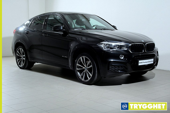 BMW X6 xDrive30d (211hk) -Mpakke-Navi-HUD-HarmanKardon-ActiveCruise-Komfortseter-DAB+-Kamera+++