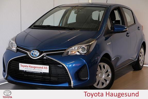 Toyota Yaris 1,5 Hybrid Active e-CVT Navigasjon, ryggekamera, Bluetooth, DAB+ - norsksolgt -  2015, 46783 km, kr 195000,-