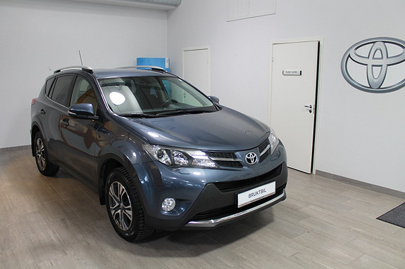 Toyota RAV4 2,2 D-4D 4WD Active **LAV KM**VELHOLDT****NYBILGARANTI**DAB+ RADIO**LAV RENTE**  2013, 20600 km, kr 339000,-