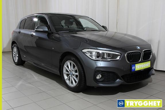 BMW 1-serie 118d 150hk 150hk, Msport, dab+