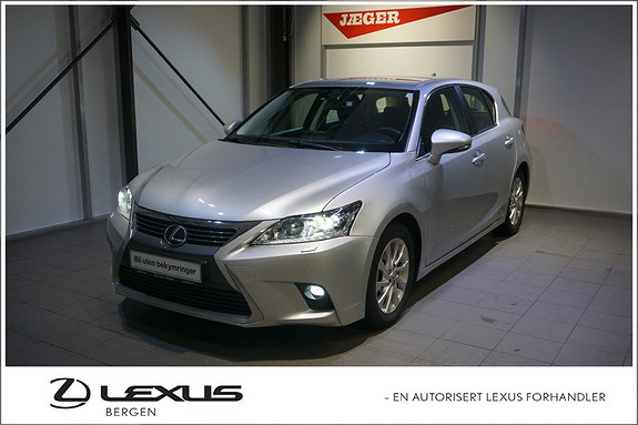 Lexus CT200h Comfort , Ryggekamera, Park.sensorer foran/bak, ++  2015, 54300 km, kr 269000,-