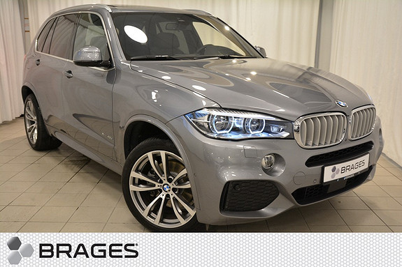 BMW X5 xDrive40e M-Sport, Panorama, Krok, Adapt.Cruise,, Night Vision, Led, HUD, Surround View++  2016, 7 700 km, kr 899 000,-