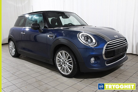MINI Cooper D Norsk-Adaptiv Cruisecontr-Adaptive LEDlys-DAB-PDC-Bluetooth-17