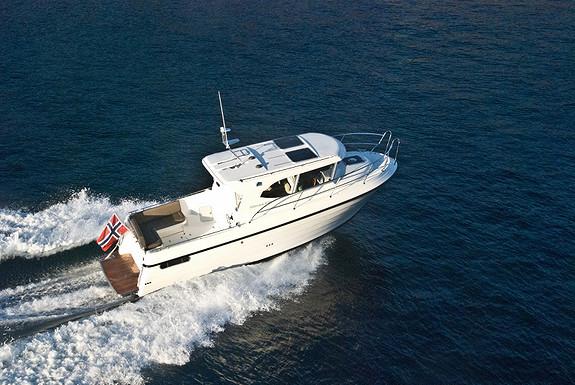 Vår NYE Viknes 830 visningsbåt