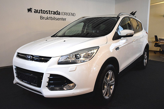Ford Kuga 2,0 TDCi 140hk Titanium aut Nye typen!  NAVI/DAB/Panorama/Bi-Xenon/El.bakluke++++  2013, 48500 km, kr 359000,-
