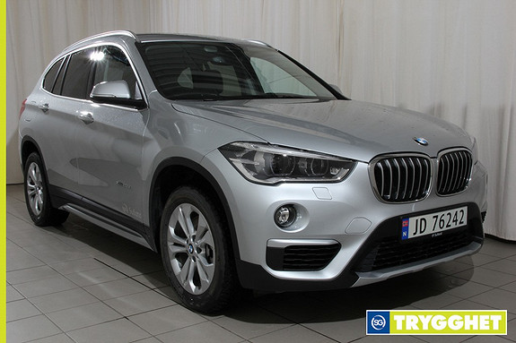 BMW X1 xDrive20d 163hk 100 Edition aut Navi,ryggekamera,hengerfeste,active cruice, Dab+,163hk