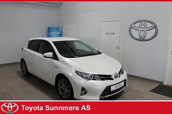 Toyota Auris 1,8 Hybrid E-CVT Executive KAMPANJE!! REDUSERT PRIS!  2013, 59606 km, kr 189000,-