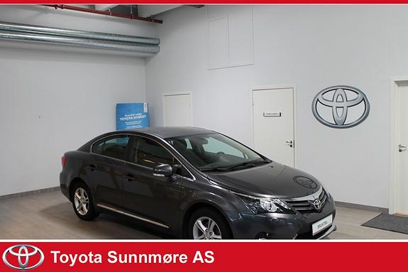 Toyota Avensis 2,0 D-4D 124hk Premium **MEGET VELHOLDT, RYGGEKAMERA, NAVIGASJON**  2012, 93250 km, kr 229000,-
