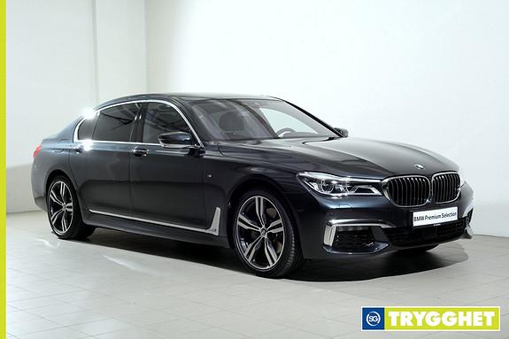 BMW 7-serie 730Ld xDrive 211hk - Norsk - Alt utstyr - Videreleasing er mulig