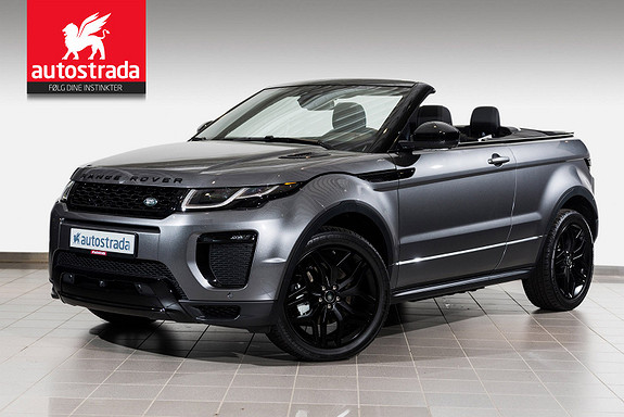 Land Rover Range Rover Evoque SD4 180hk HSE Dynamic Convertible