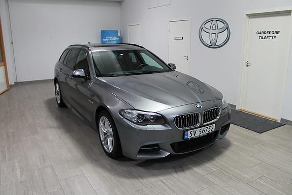 BMW 5-serie 520d xDrive Touring 190hk Automat NORSK**xDRIVE**M-SPORT*DROP OF BEHANDLET**WEBASTO  2015, 40586 km, kr 599000,-