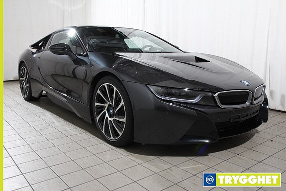 BMW i8 i-performance Pure impulse Norsk-Head up-DAB-Harman Kardon-el seter-DAB-comf.acc-LED-El.seter-Navi-skinn-20
