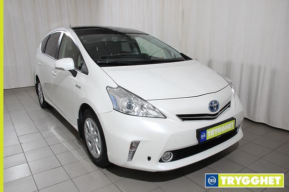 Toyota Prius+ Seven 1,8 VVT-i Hybrid Executive +7 Navi, ryggekamera,head up, panorama, 7 seter