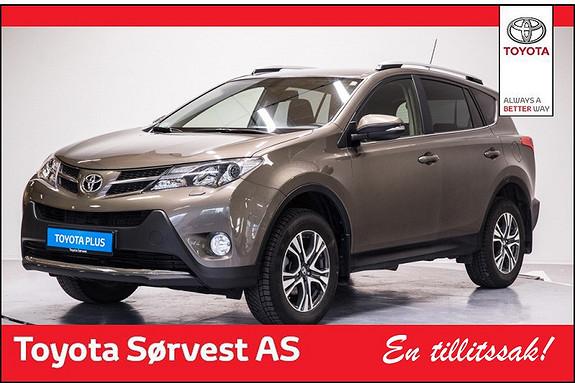 Toyota RAV4 2,2 D-4D 4WD Active Style  2015, 31164 km, kr 379000,-