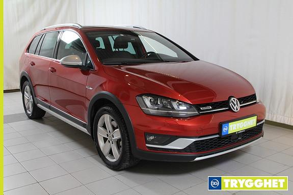 Volkswagen Golf Alltrack 2,0 TDI 184hk 4MOTION DSG Topp utstyrt, Norsk bil