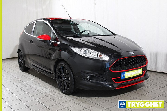 Ford Fiesta 1,0T 140hk Black edition