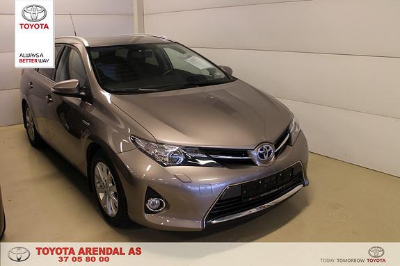 Toyota Auris 1,8 Hybrid E-CVT Active Go navi Hybrid med Navi, cr contr , rygge kamera ++  2015, 50500 km, kr 249000,-