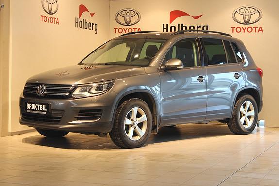 Volkswagen Tiguan 2,0 TDI 110hk  Trend & Fun BMT Adapt.Xenon, DAB+, H.Feste, Webasto, Panorama++  2013, 96908 km, kr 189000,-