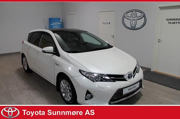Toyota Auris 1,8 Hybrid E-CVT Executive **EXECUTIVE**LAV KM**PANORAM  2013, 35100 km, kr 189000,-