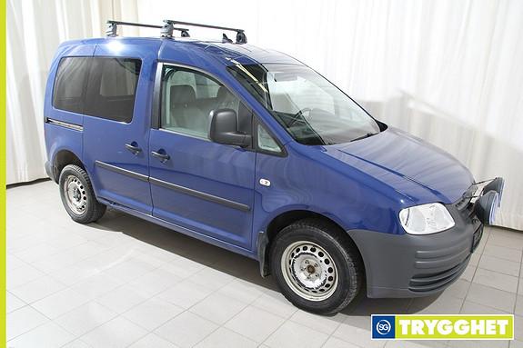 Volkswagen Caddy 1,9 TDI 105hk 4Motion m/fjernstyrt webasto