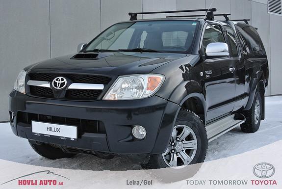 Toyota HiLux D-4D 120hk X-Cab 4wd Topp - H.feste -  1 eier - EU Ok 2018 - 1 års bruktbilgaranti  2006, 172750 km, kr 179900,-