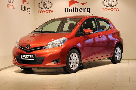 Toyota Yaris 1,33 Active Navigasjon, Ryggekamera, Bluetooth, Multiratt ++  2013, 39307 km, kr 159000,-