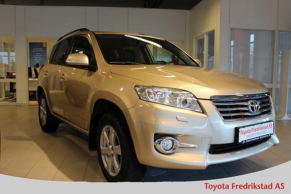 Toyota RAV4 2,0 VVT-i Vanguard Executive , 1 eier, delskinn, full servicehistorikk, 4WD,  2012, 114200 km, kr 239000,-