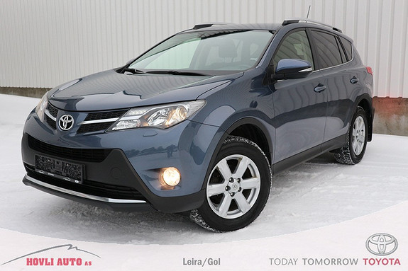 Toyota RAV4 2,2 D-4D 4WD Active 150HK , Understellsbehandlet,  2013, 88500 km, kr 319000,-