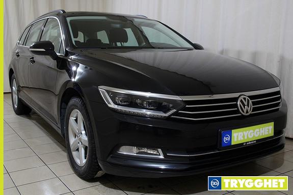 Volkswagen Passat 1,6 TDI 120hk Comfortline FJERNSTYRT WEBASTO