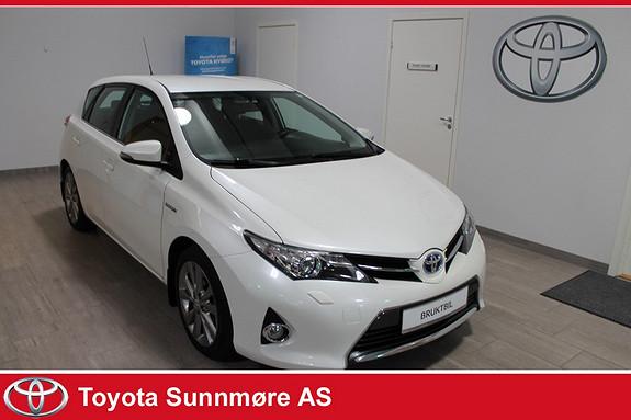 Toyota Auris 1,8 Hybrid E-CVT Active Go navi **LAV KM**VELHOLDT**RYGGEKAMERA**NAVIGASJON*TECTYL  2013, 33000 km, kr 199000,-