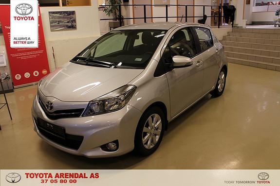 Toyota Yaris 1,33 Active Lav km  h feste + ryggekamera 1 eier  2014, 22000 km, kr 165000,-