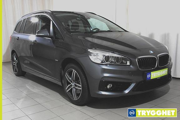 BMW 2-serie 218i Gran Tourer 7-s aut Navi,ryggekamera,headup,hengerf,sportstoler,Dab+