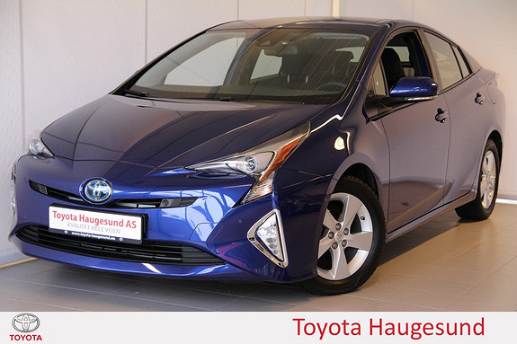 Toyota Prius 1,8 VVT-i Hybrid Executive Navi, kamera, Bluetooth, HUD, cruise - norsk, tectyl  2016, 6875 km, kr 319000,-
