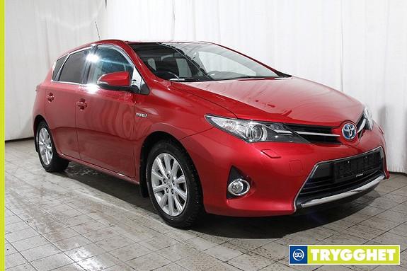 Toyota Auris 1,8 Hybrid E-CVT Active+ BiXenon-Aut.Fjernlys-Regnsensor-Keyless-Navi-Klima