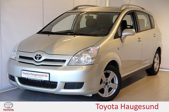 Toyota Corolla Verso 1,8 Sol Ny clutch, ny hovedservice, ny A/C-service, 7-seter - hel og pen!  2005, 186705 km, kr 85000,-