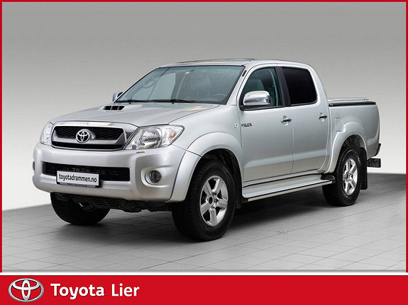 Toyota HiLux D-4D 143hk D-Cab 4WD SR5 Hengerfeste, Alucover over plan.  2011, 107500 km, kr 239000,-