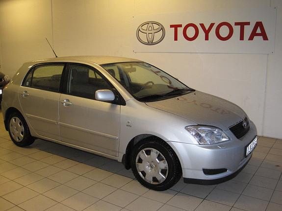 Toyota Corolla 1,6 Sol  2004, 126900 km, kr 49900,-